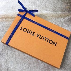 Authentic Louis Vuitton Gift Box & Ribbon